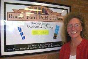Introducing Robin Reed; Robin contributed to make Partners in Promotion Business and Library a BIG SUCCESS!