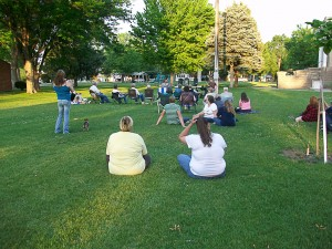Audience--Evening in the Park 06/09/2011