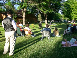 Evening in the park 2011
