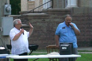 Glenn Parker & Daryl Grasmick, Evening in the Park, Thurs. July 15, 2010