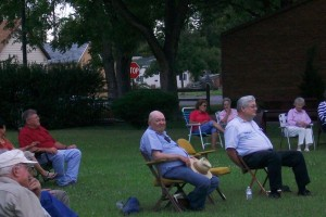 Audience--Evening in the Park July 15, 2010
