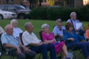 Friends of the Library, Aug. 28, 2010, enjoying Karaoke.